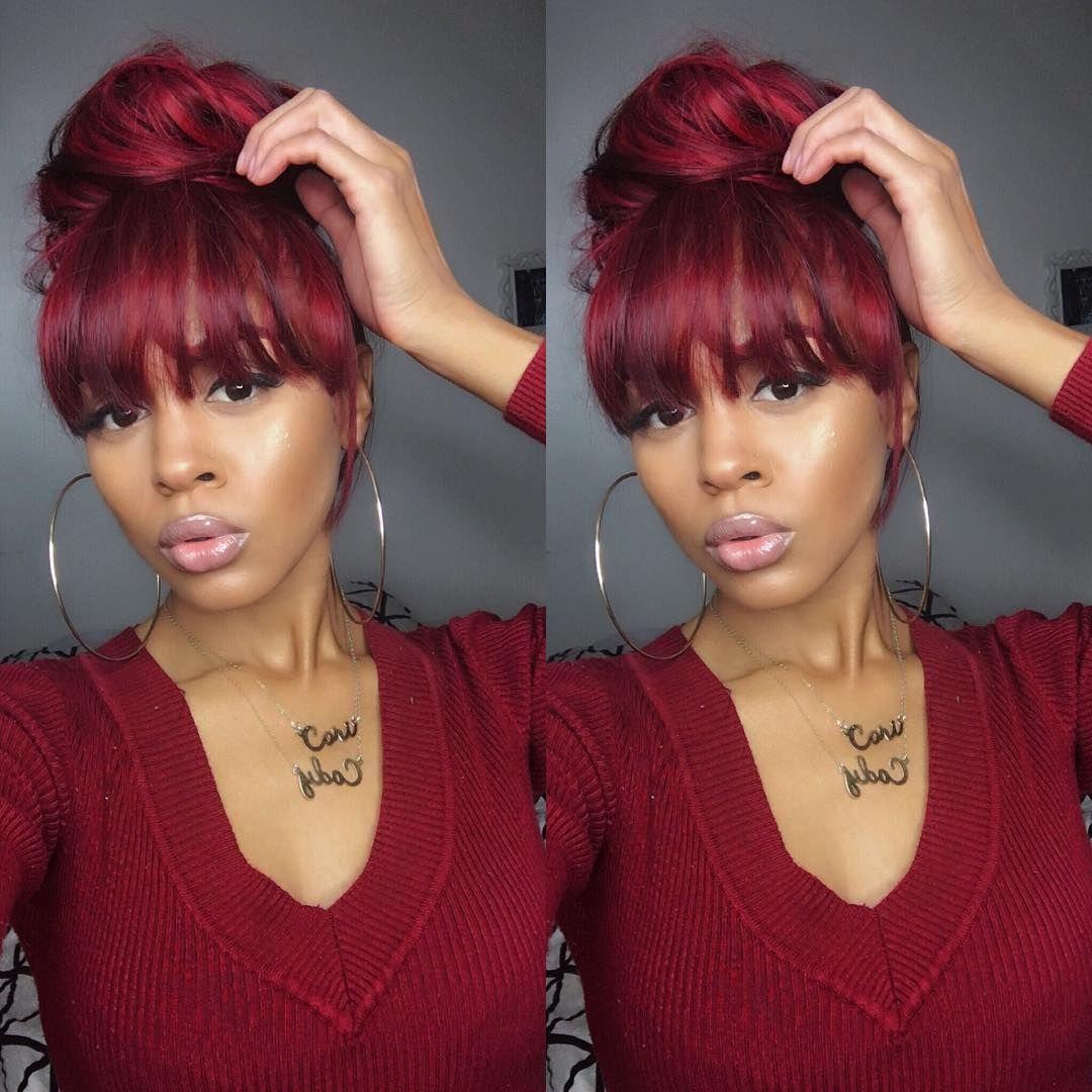me~@kijanaanderson❤️   women slaying   ponytail hairstyles