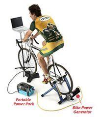 generador de energía bicicleta Windstream