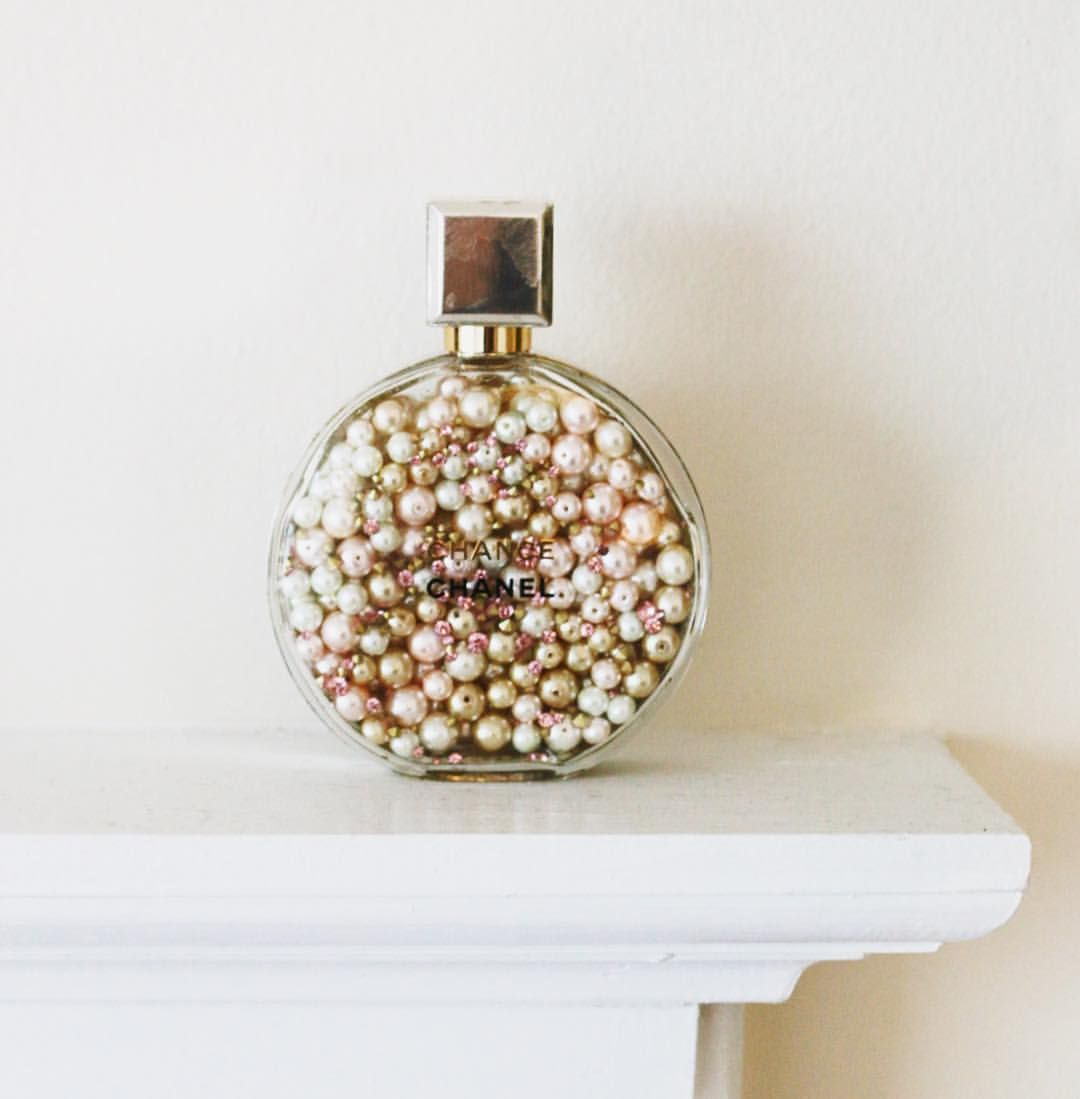 Vintage Perfume Bottles For Glitter