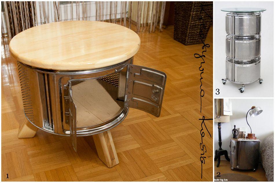 Tambour Machine A Laver Table De Salon Mange Debout