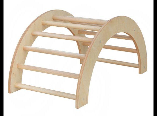 Kletterbogen Dawanda : Holzspielzeug bogenleiter sprossenbogen kletterbogen 40 cm ein