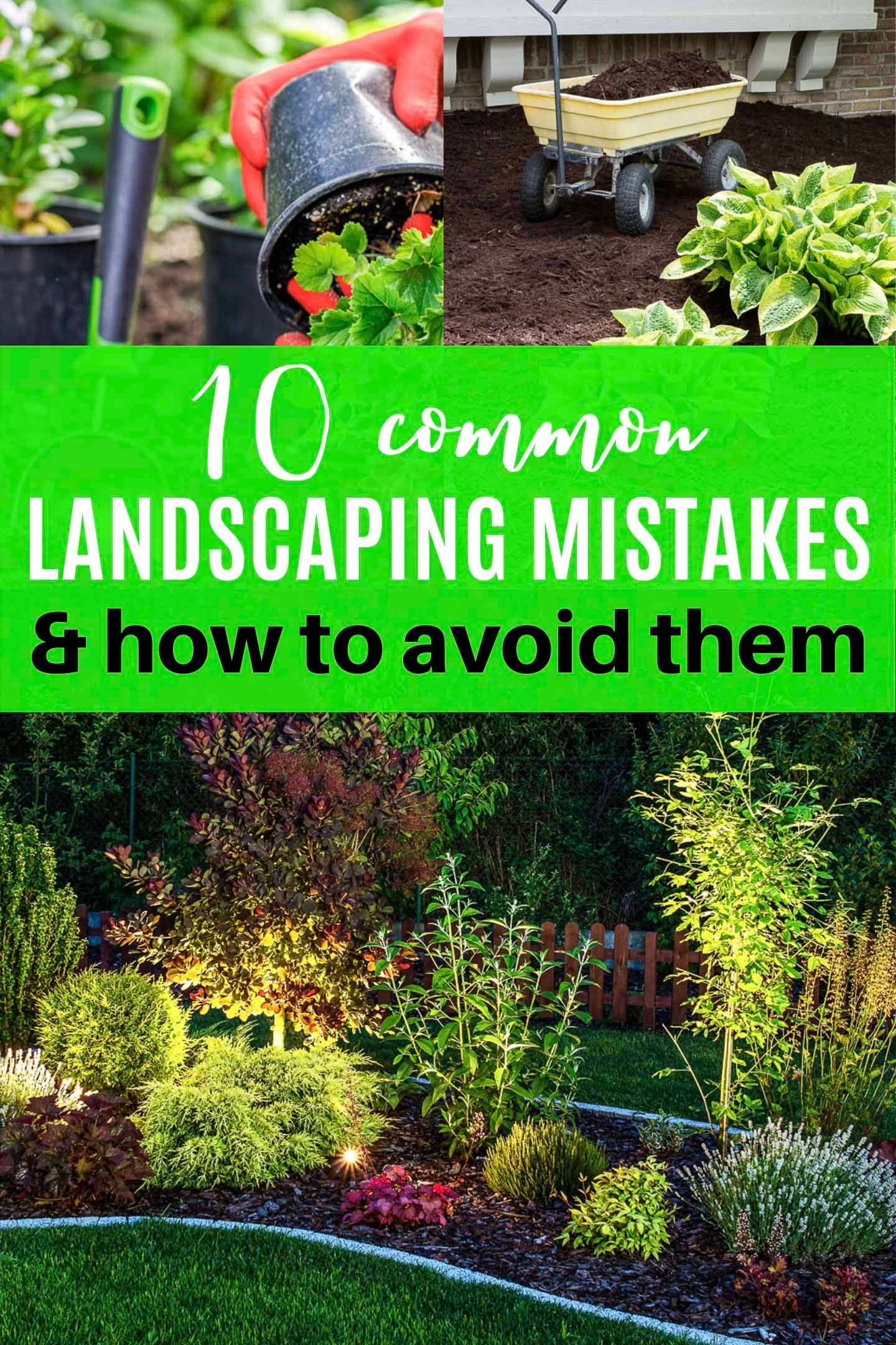avoid these 10 landscaping mistakes for your best garden on favorite beautiful garden design ideas for enhance your yard tips for gardening id=23576