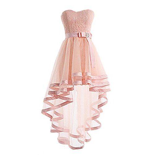 Vokuhila kleid abendkleid