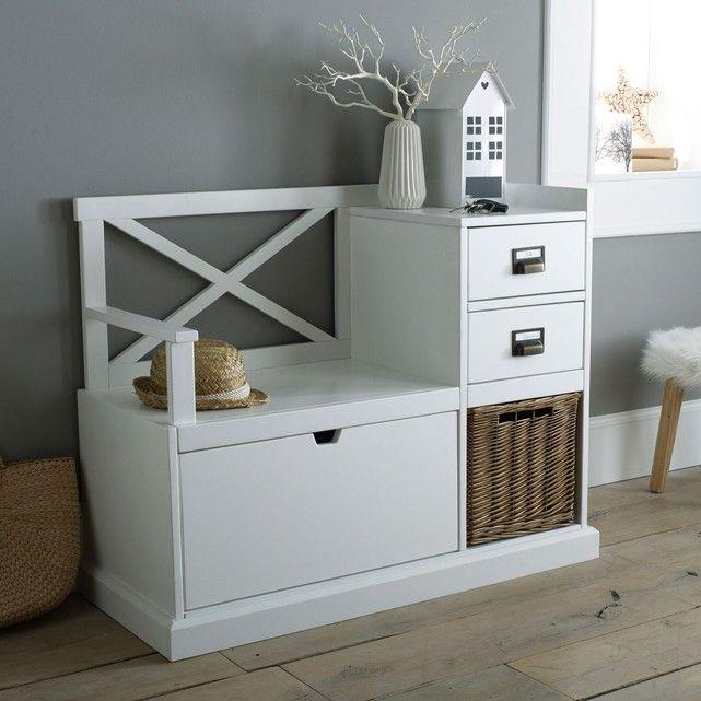 banc d 39 entr e lindley en 2019 maison banc entree. Black Bedroom Furniture Sets. Home Design Ideas
