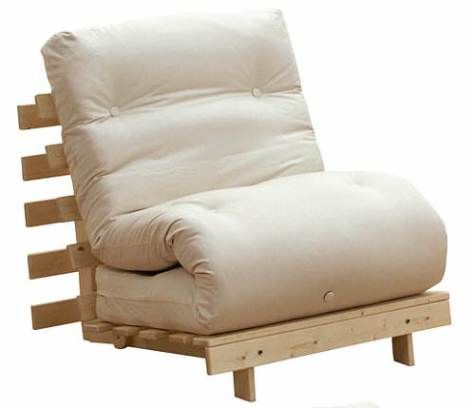 Single Sofa Bed Chair Inspirasi