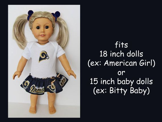 This item is unavailable #18inchcheerleaderclothes St. Louis Rams / 18 inch doll cheerleader dress / by kkDollTeams #18inchcheerleaderclothes This item is unavailable #18inchcheerleaderclothes St. Louis Rams / 18 inch doll cheerleader dress / by kkDollTeams #18inchcheerleaderclothes