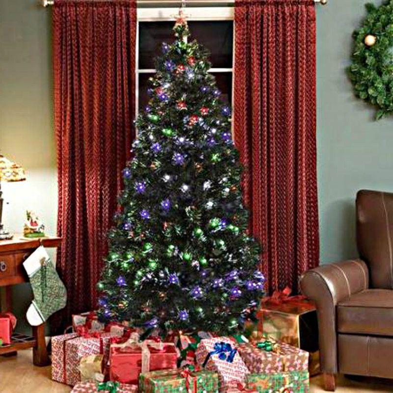 Christmas Tree Fiber Optic Christmas Tree Multi Color Christmas Tree Led Lighted Tree Led Christmas Tree Lights Christmas Tree Decorations Cool Christmas Trees