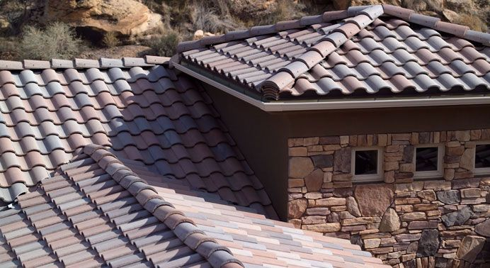 Eagle Roofing Products Tile Detail Roofing Roof Concrete Roof Tiles