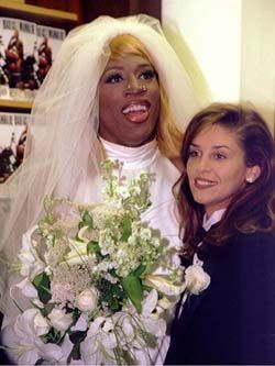 Dennis Rodman In Wedding Dress Dennis Rodman Wedding Dresses
