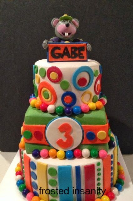 chuckecheese cake Cakes by Frosted Insanity Pinterest