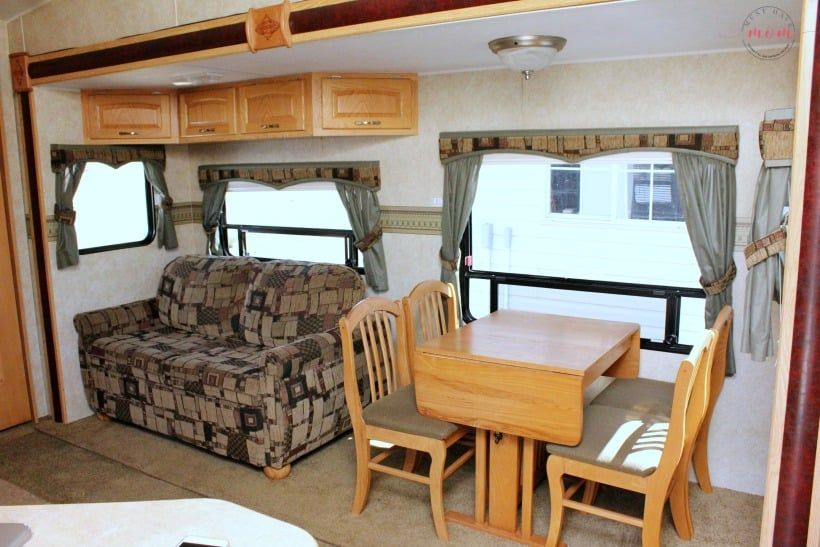 Modern Mountain Rv Makeover Before After Pictures Must Have Mom Wallpaper Border Camper Furniture Diy Camper Remodel