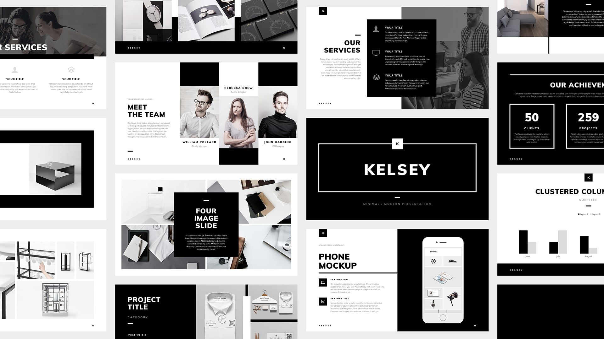 Powerpoint kelsey presentation templates business presentation powerpoint kelsey professional modern and clean presentation template business presentation accmission Gallery