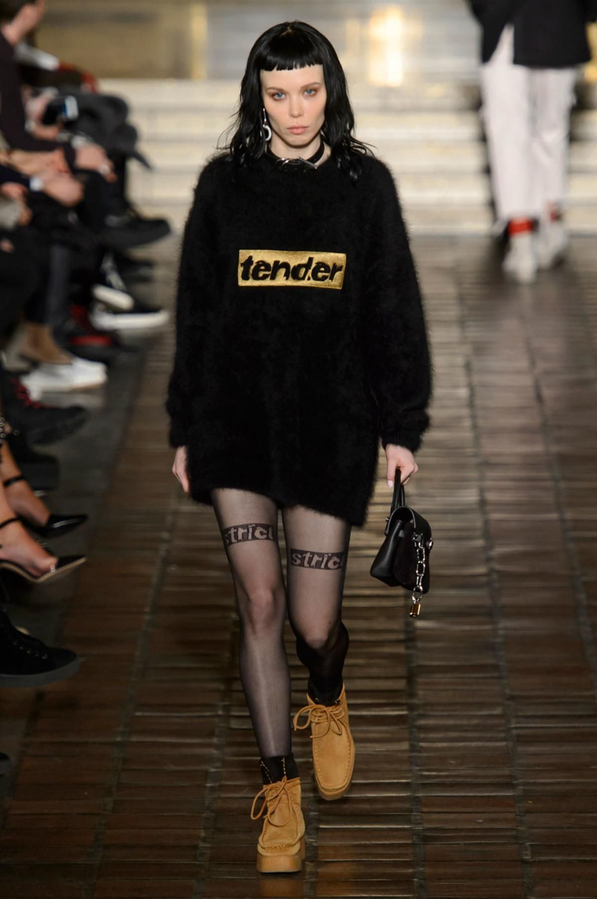 A look from the Alexander Wang fall 2016 show. Photo: Imaxtree.