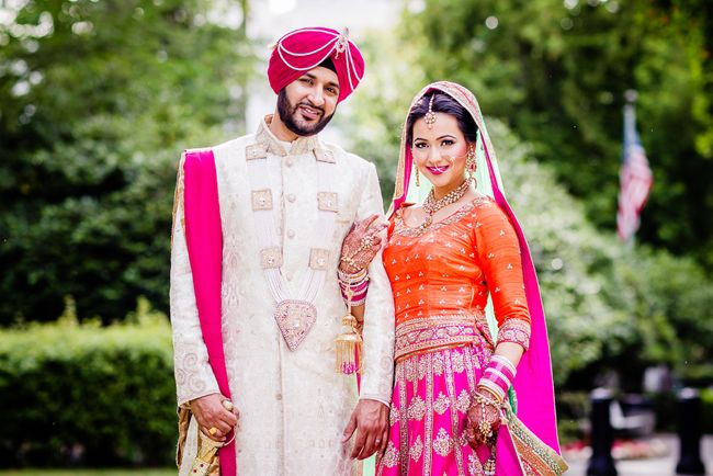 Indian Bride And Groom By James Thomas Long Photography Punjabi WeddingDesi WeddingWedding BrideWedding GiftsWedding 2015Wedding