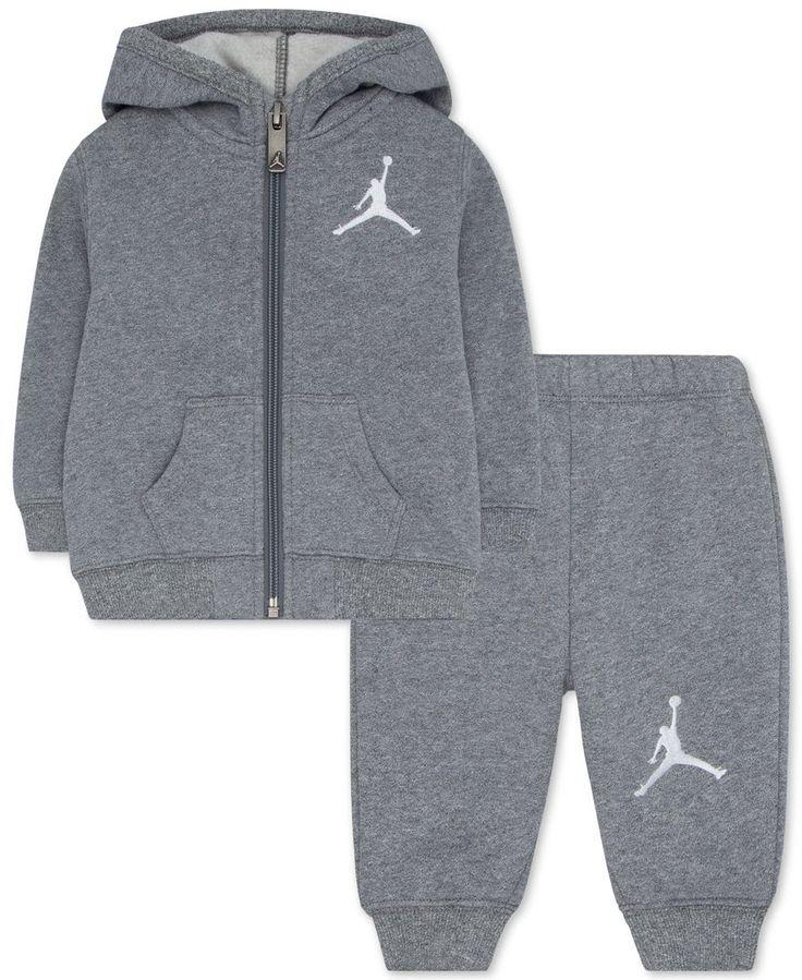 sneakers for cheap f60bb 5197a Jordan Baby Boys  Hoodie   Pants Set