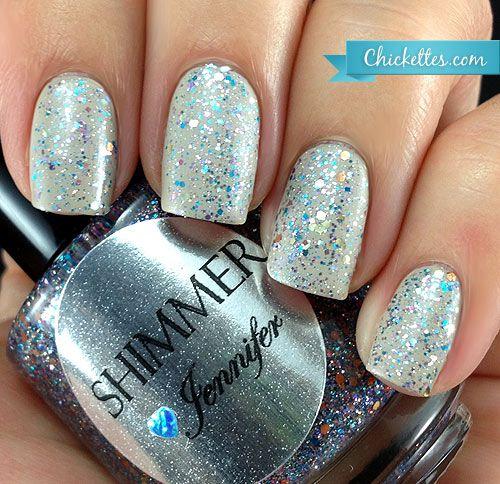 Shimmer Polish Jennifer Swatch