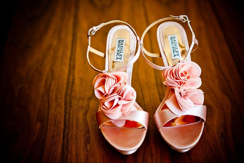 Peach Wedding Shoes 032 - Peach Wedding Shoes