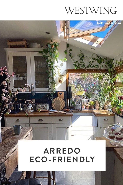 Cucina Arredo Eco Friendly Nel 2021 Design Sostenibile Design Arredamento