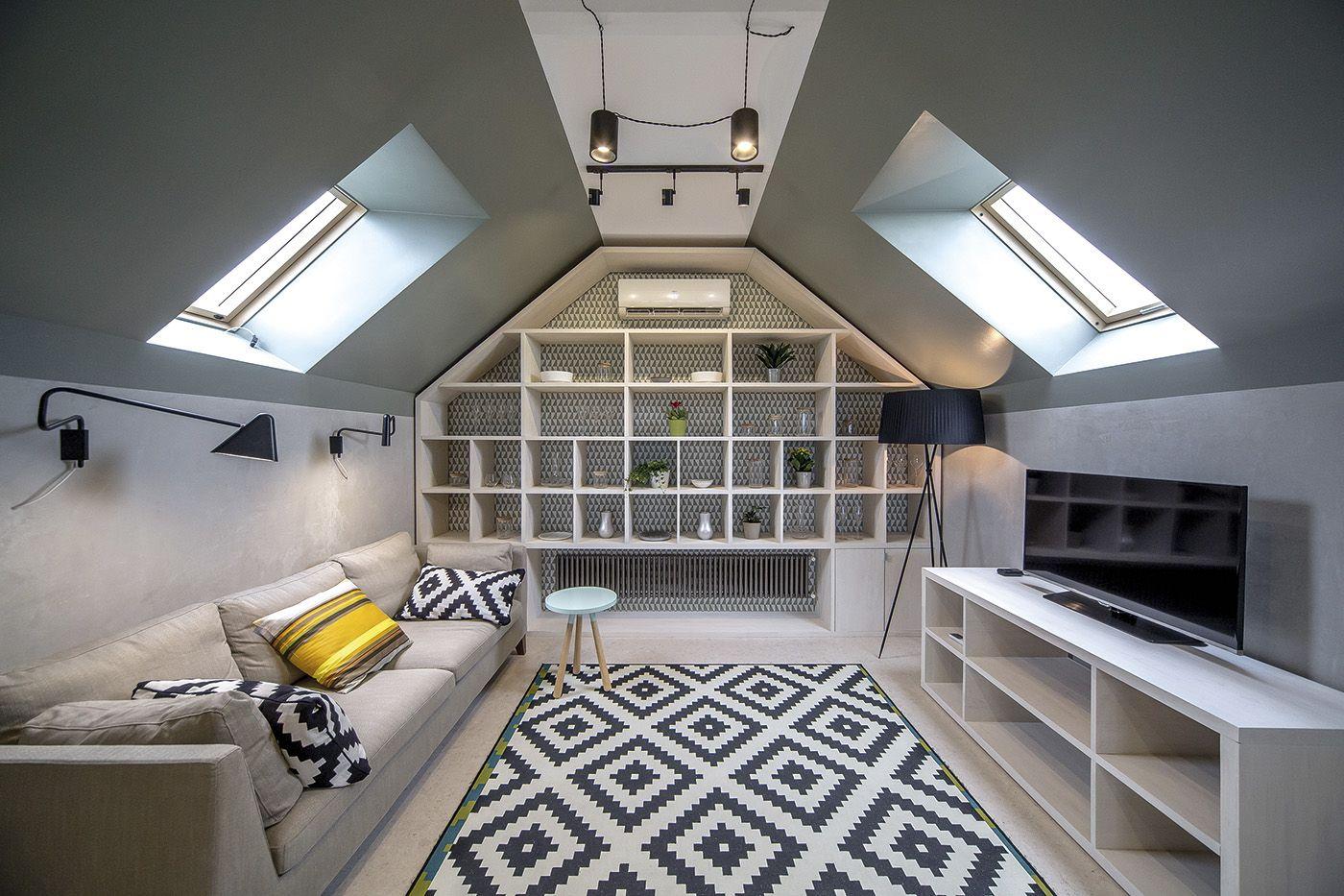 Wonen in een loft met nieuwe interieur trends en veel licht door