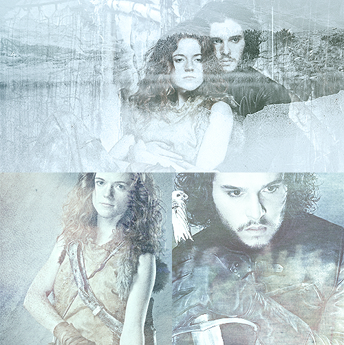 Jon Snow And Ygritte Game of Thrones