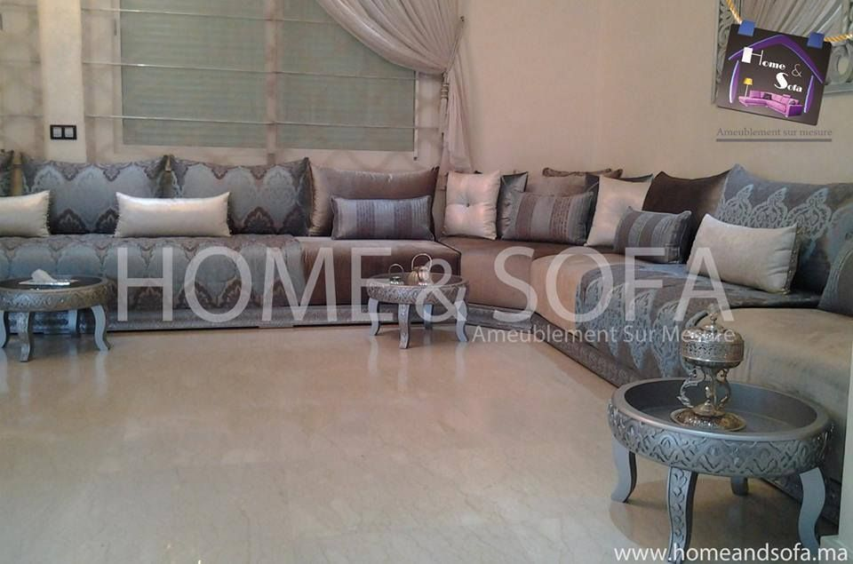 Salon marocain home and sofa espace deco home and sofa