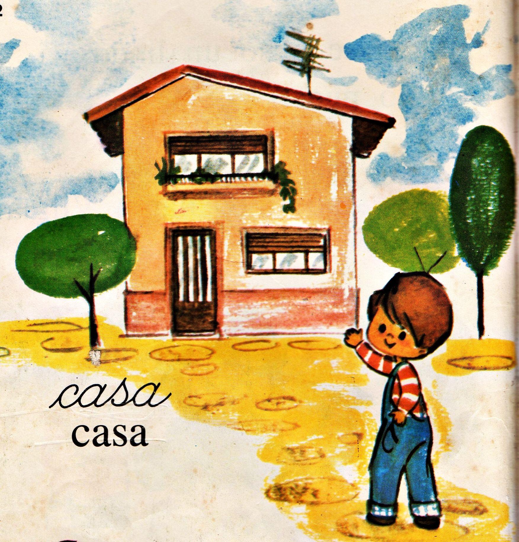 Libro de lectura de primer grado,Gustavito,Argentina.