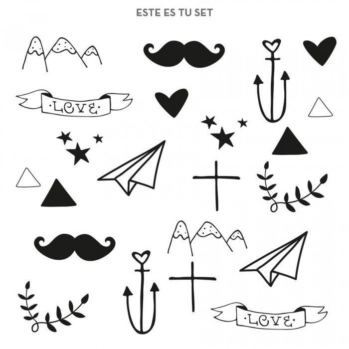 Pin De Camila Chang En Tatuajes Temporales Plantillas De Tatuajes