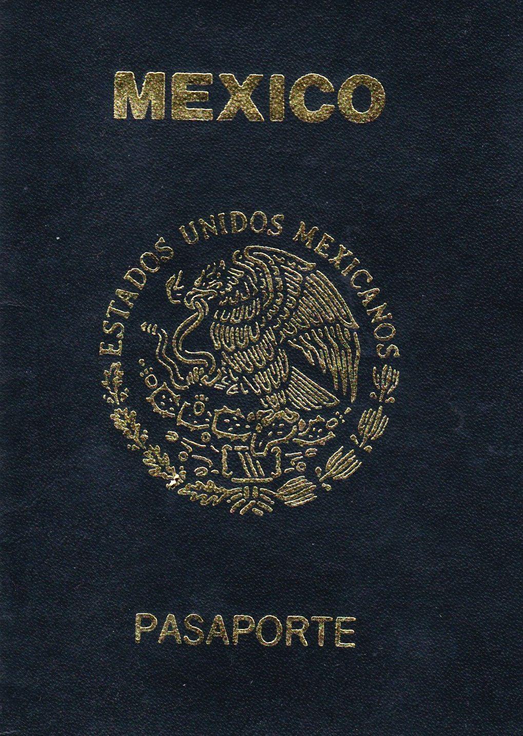 Mexican Passport, Mexico  Travel The World En 2019 -1717