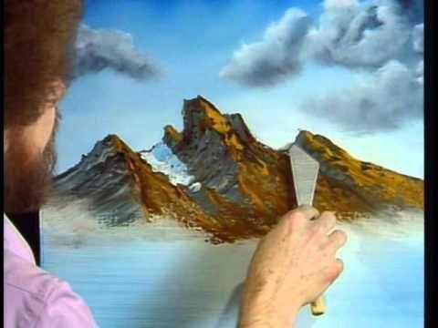 Yagli Boya Caliliklar Cayirlar Araziler Nasil Cizilir Youtube Bilder Fur Sie Picgram Website Bob Ross Art Bob Ross Paintings Bob Ross