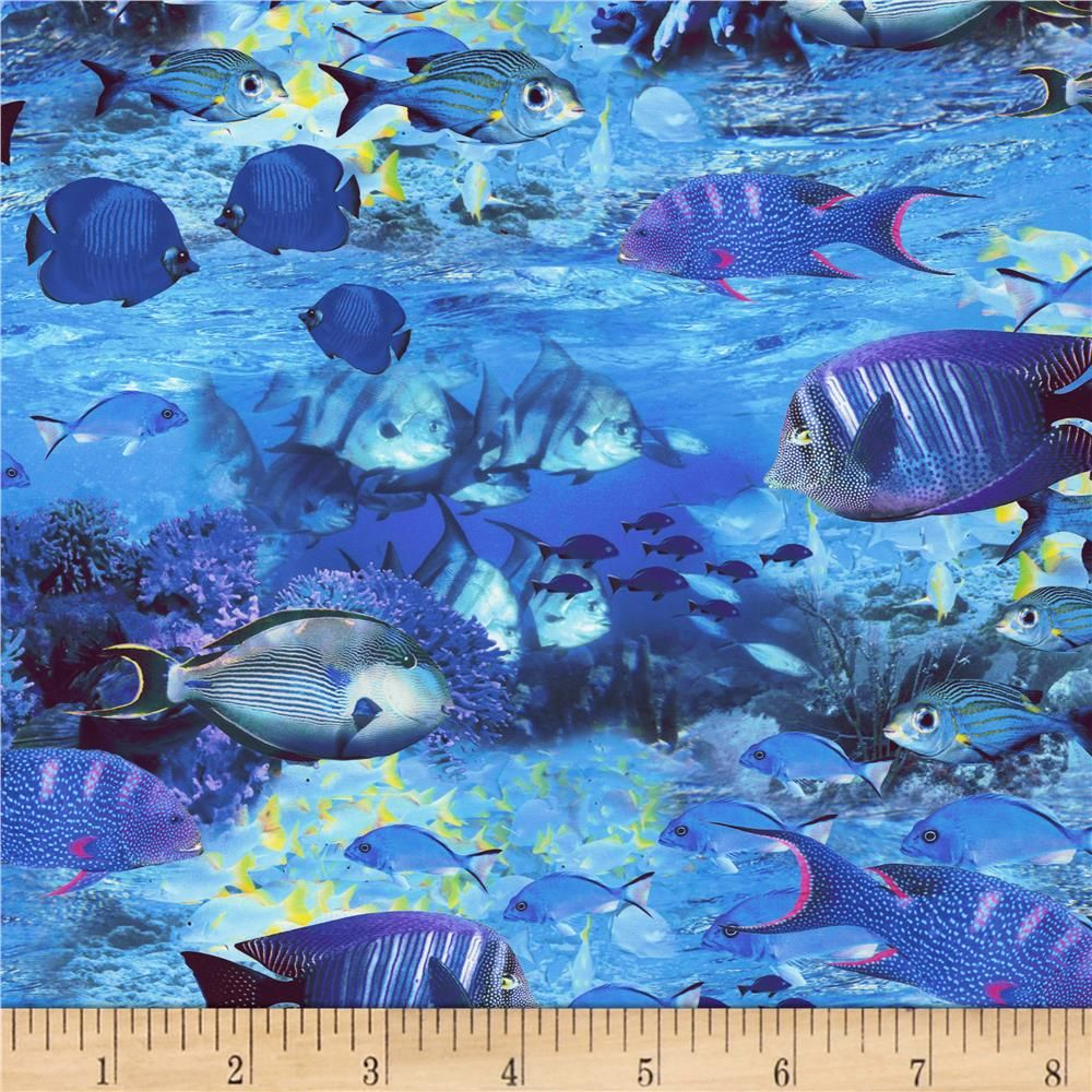 ... Fish Nautical From @fabricdotcom From Timeless Treasures, This Cotton  Print Fabric Collection Is Perfect For Apparel, Quilting, And Home Decor  Accents.