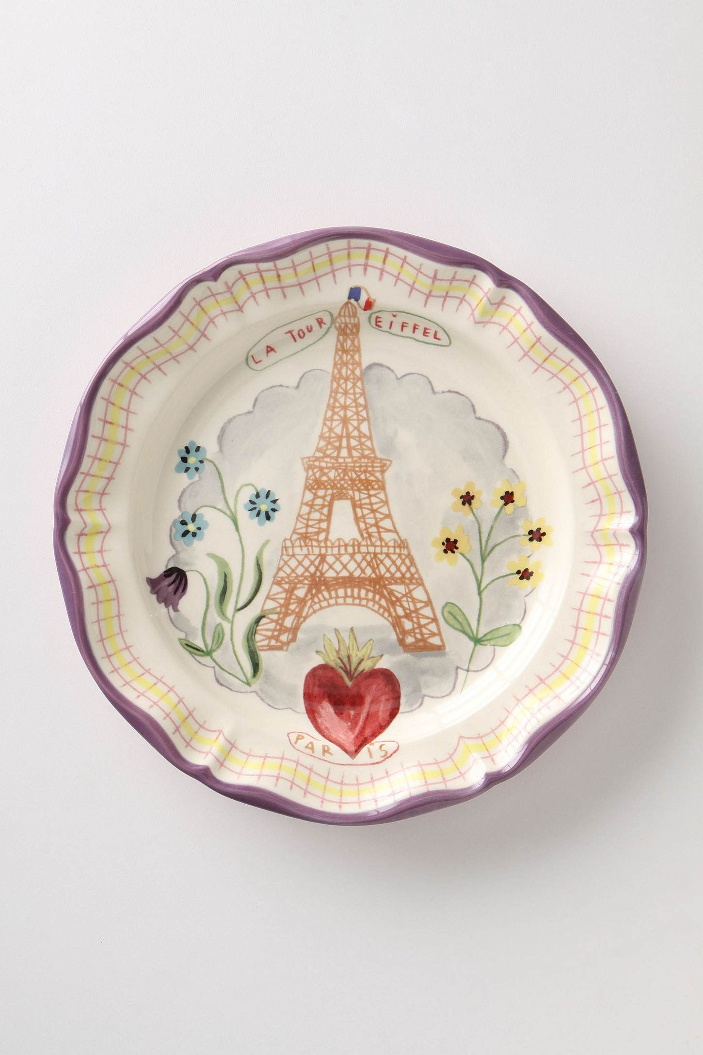 Francophile Dinner Plate Eiffel Tower - Anthropologie.com & Francophile Dinner Plate | Pinterest | Tower China and Dinnerware