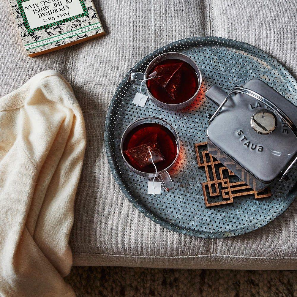 Lasercut walnut teapot trivet teapot