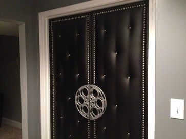 Home Theater Upholstered Doors & Home Theater Upholstered Doors | Man Cave | Pinterest | Doors ...