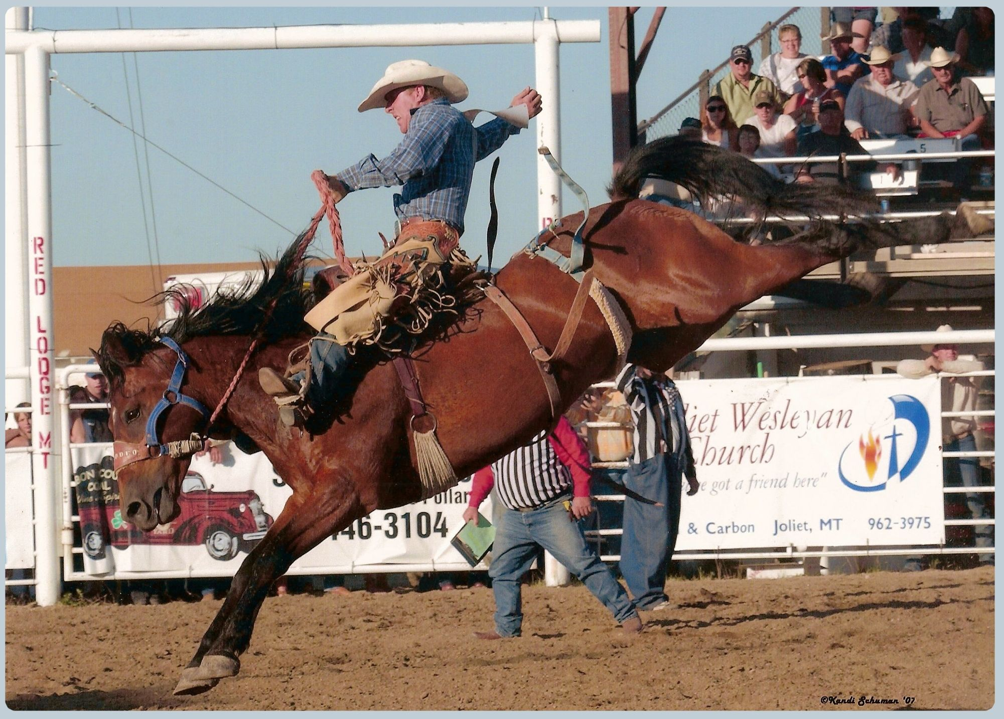 Most Rodeos Today Include Calf Roping Bronc Riding