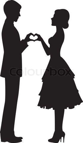 Wedding silhouette clip art google search wedding pinterest wedding silhouette clip art google search junglespirit Gallery