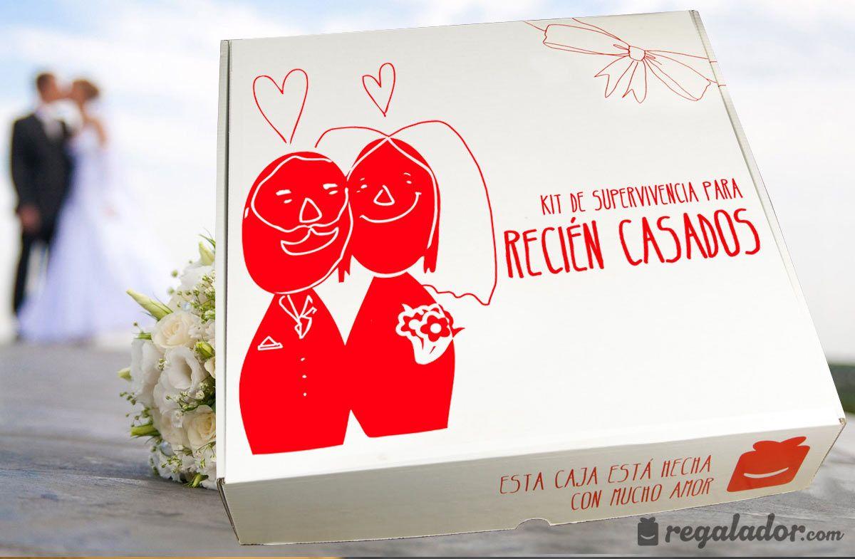 Pack de regalo para reci n casados reci n casados - Sorpresas para recien casados ...