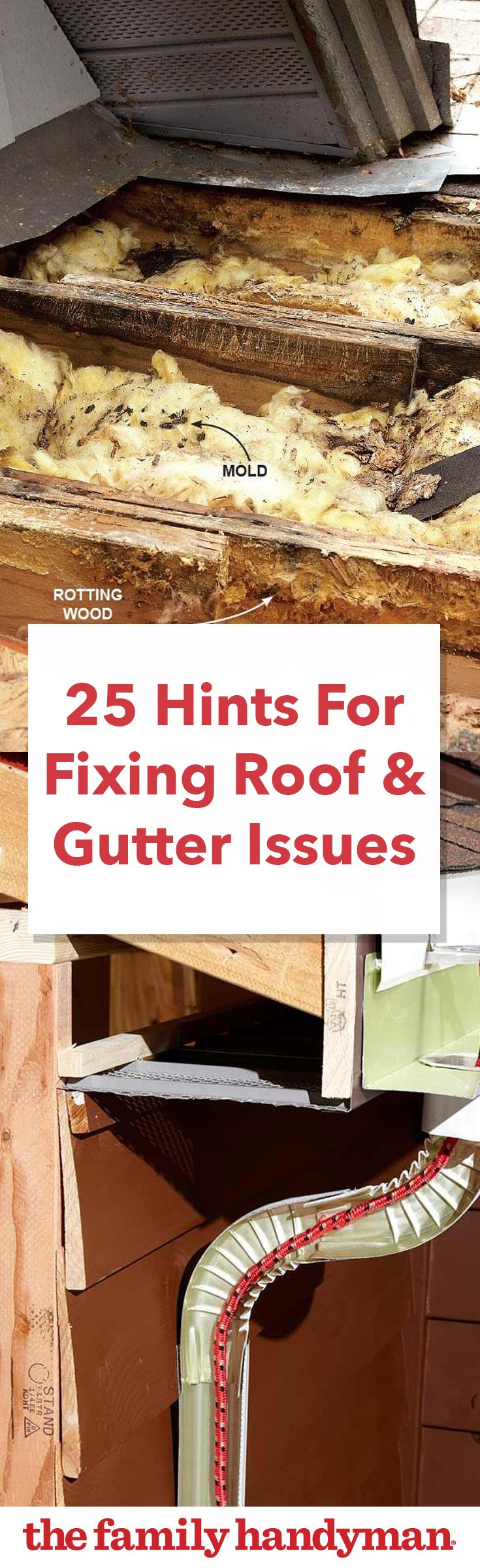 Best 25 Hints For Fixing Roof And Gutter Issues Diy Home 400 x 300