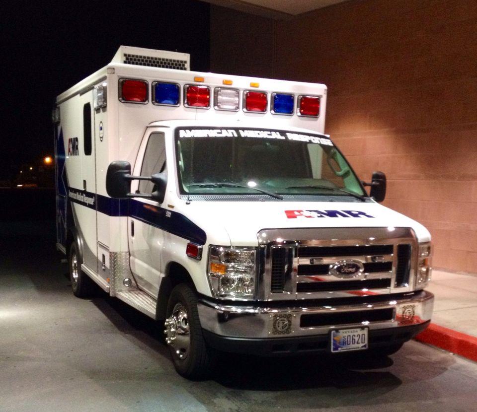 Amr las vegas ems ambulance fire trucks emergency