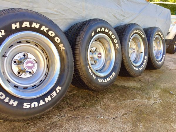 """Offer Up Dallas Tx >> 15x8"""" Chevy C10 Rally Wheels n' 275/60/15 tires for Sale in Dallas, TX 