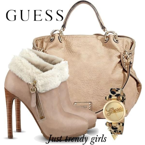 Guess Shoe And Handbag