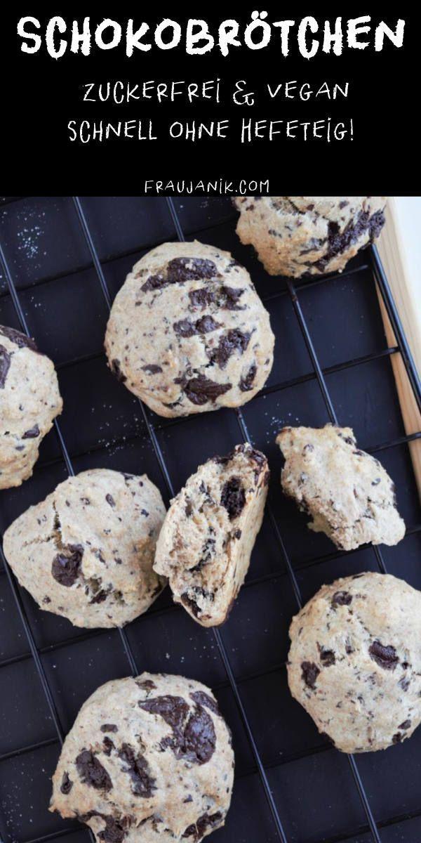 Schokoladenröllchen vegan & zuckerfrei   - Rezepte mit Schokolade -