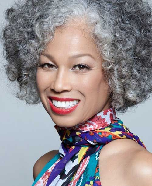 Hairstyles For Black Women Over 50 Fave Hairstyles Natural Hair Styles Beautiful Gray Hair Silver Hair