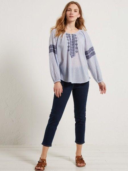 White Stuff SS17 Straight Crop Jeans