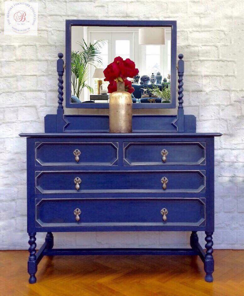 For sale edwardian oak dressing tablechest of drawers
