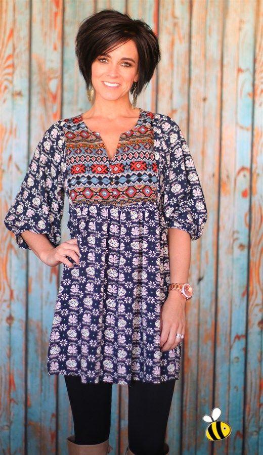 7ad61b2cccd Oh So Popular Boho Chic Tunics - 4 Colors  Jane Deals