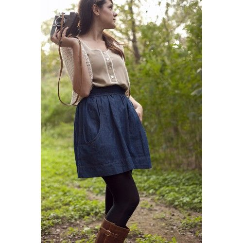 Schnittmuster: Brumby Skirt | Taschen, Sewing patterns and Patterns