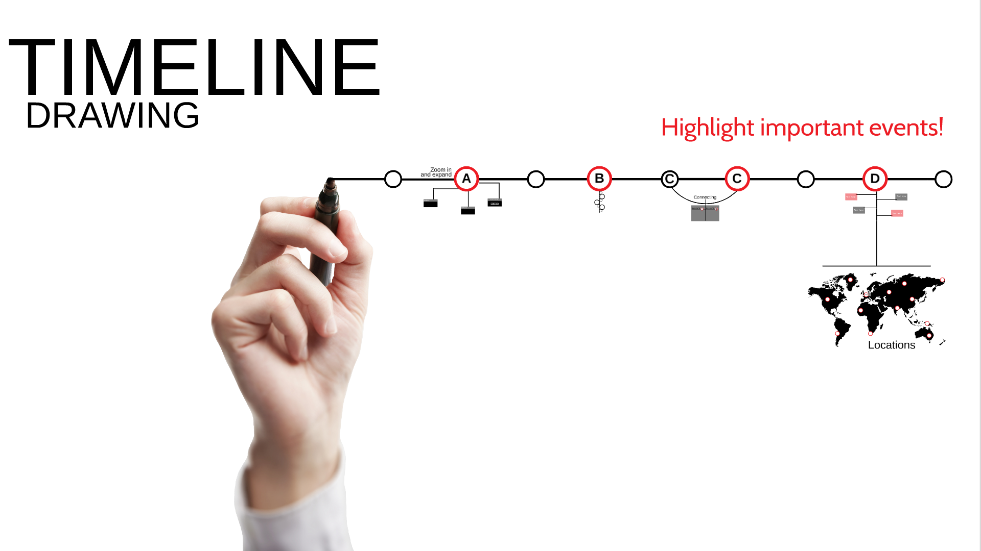 Drawing Timeline Prezi Template Create Your Own Timeline With