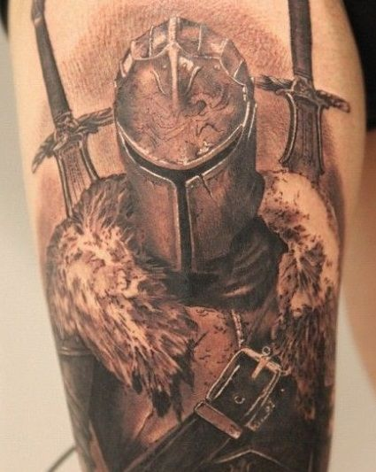 #knight #tattoos #knighttattoos | tattoos | Pinterest ...