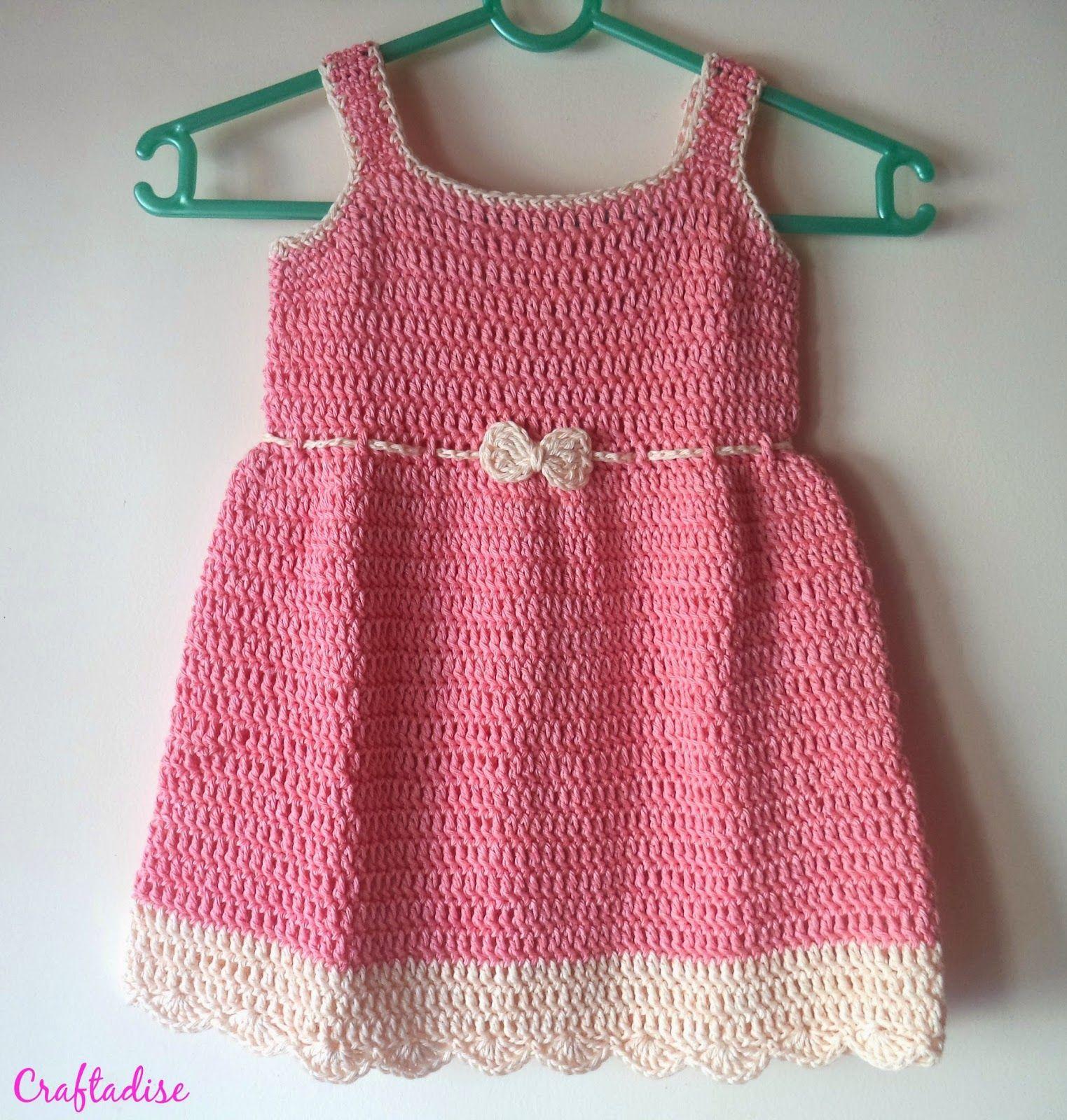 Free crochet pattern crochet summer peach toddler dress my top free crochet pattern crochet summer peach toddler dress bankloansurffo Image collections