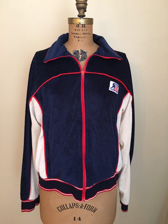 Vintage 1980s Usa Hockey Team Levis Olympics Training Jacket Etsy Team Usa Hockey Usa Hockey Hockey Teams
